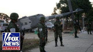 13 killed in helicopter crash in Mexico