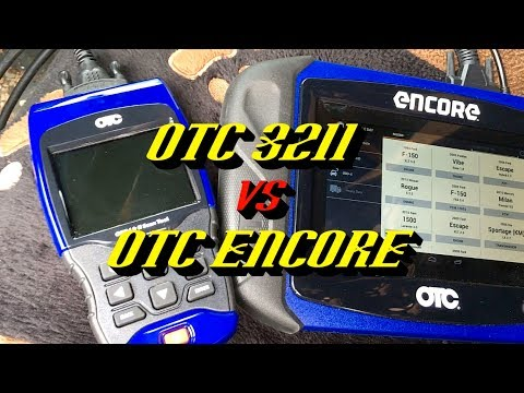 OTC Encore vs OTC 3211 Scan Tools- Ford OBD I Compatibility: The Results May Surprise You!