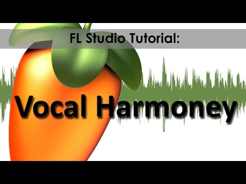 How to make a Vocal Harmony in Fl studio For FREE,EASYWAY!!