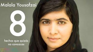 8 cosas que deberías saber sobre la asombrosa Malala Yousafzai