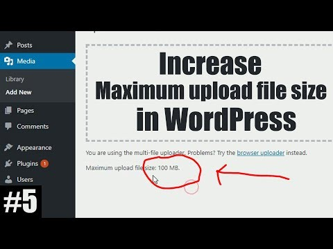 How to Increase Upload File Size Limit in WordPress (GoDaddy)