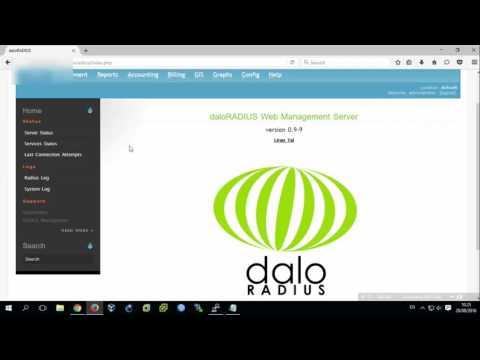 [Lab 34] Setup Radius Server with FreeRadius v3 and Daloradius for PPTP Mikrotik