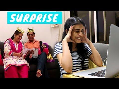 Reacting to YouTube Rewind 2017 + Surprising my Parents   #DhwanisDiary