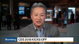 Sony CEO Hirai Aims to Expand in TV, Phones, Digital Imaging