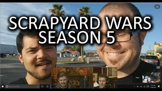 SCRAPYARD WARS SEASON 5 ANNOUNCED! - WAN Show March 24, 2017
