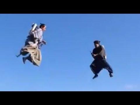 Jetpack Samurai (IRL)