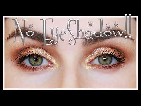 NO EYESHADOW Eye Makeup Tutorial | LetzMakeup