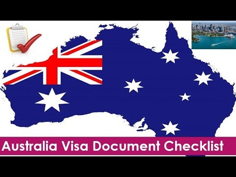 Australia Tourist Visa Document Checklist | Visitor Visa Subclass 600 Required Documents