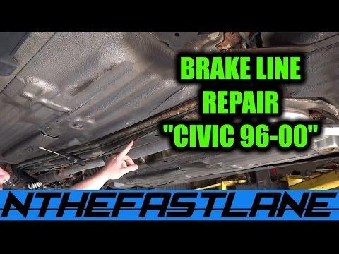 Rusted Brake Line Repair