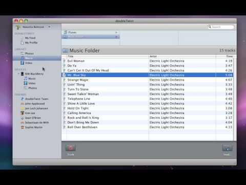 doubleTwist for Mac OS X device demo