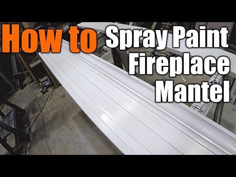 How To Make A Classic Fireplace Mantel pt2 | THE HANDYMAN |