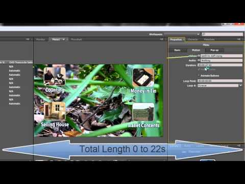 Adobe Encore Basics 6: Creating Motion Menus