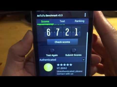 Samsung Galaxy Core Dual Sim GT-I8262 Test 1