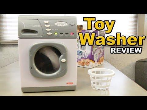 CASDON Toy Washing Machine Review - 18650 upgraded