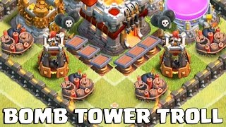 Clash of Clans | POISON TROLLING | Plus NEW TH 11 OP Attack