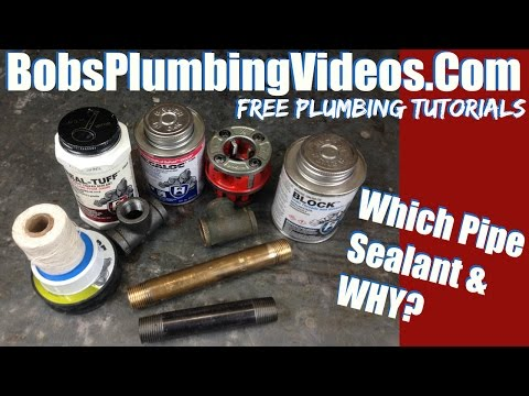 Pipe Thread Sealant / Which Pipe Sealant & Why!