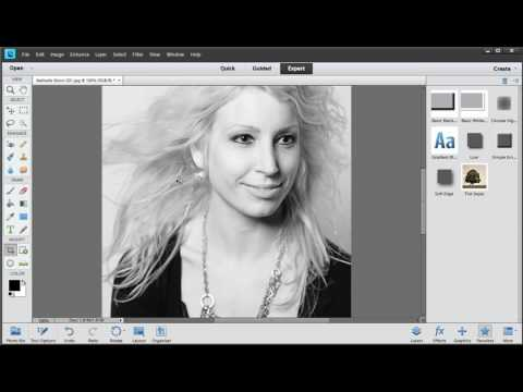 Photoshop Elements: Resizing Images