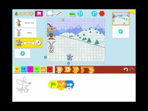 Create a Simple Race Game Animation in Scratch Jr