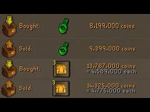 [OSRS] FLIPPING THE HIGHEST MARGIN ITEMS IN F2P - EP #5 - Flipping to 100m using F2p Items Only!