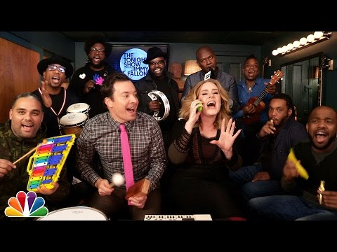 Jimmy Fallon, Adele & The Roots Sing