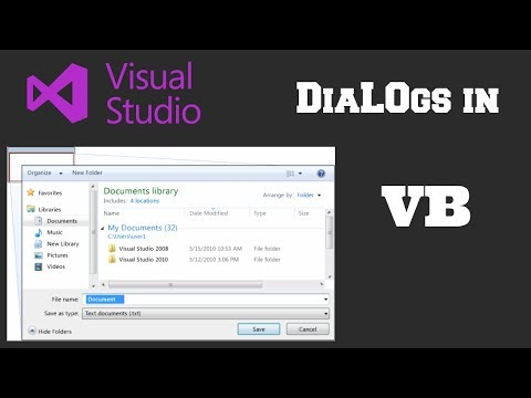 How To Make a Open File Dialog Window | Visual Studio | Visual Basic