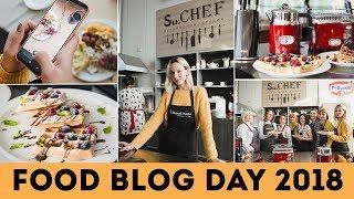 VLOG: Как я съездила в Киев на FOOD BLOG DAY 2018🌟Olya Pins