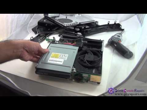XBOX360SLIM   DG 16D4S   Lite On DVD Drive Laser Mechanism Replacement by gc repairs com