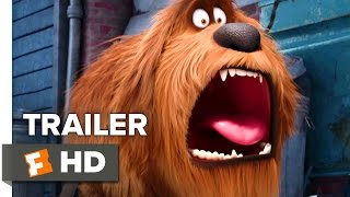 The Secret Life of Pets Official Trailer #1 (2016) - Kevin Hart, Jenny Slate Animated Comedy HD