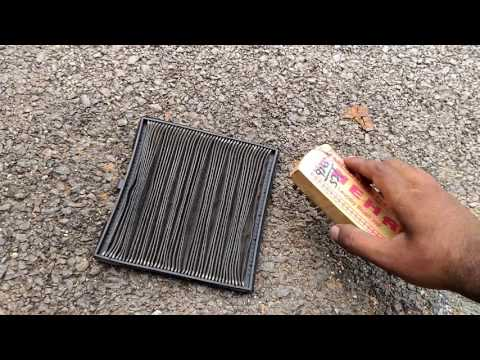 How To Clean/Replace Air Conditioner Filter In Hundai Xcent