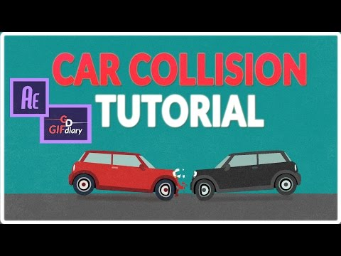 Car collision animation - Adobe After Effects Tutorial