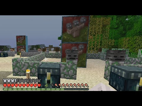 Minecraft TU14: Mossy Walls + Night Mode & Invisible Potions