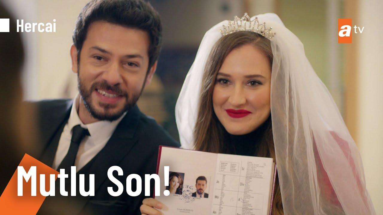 Gönül ve Azat evlendi! - @Hercai  62. Bölüm