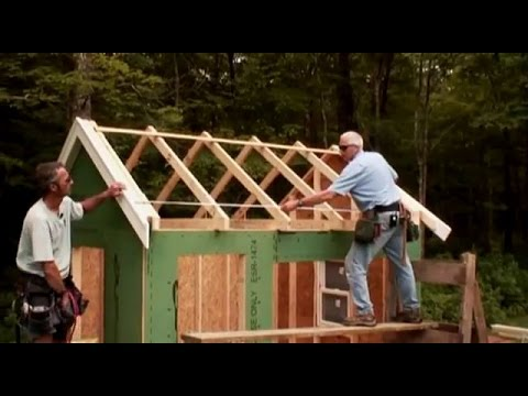 Building Gable Roof Trusses