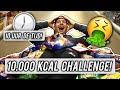 10.000 CALORIEËN CHALLENGE IN 10 UUR!