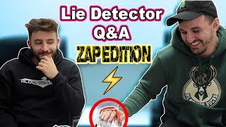 (FAKE BEEF EXPOSED?!) LIE DETECTOR TEST Q&A WITH KAZZY| YOU LIE YOU GET ZAPPED! (ZAP EDITION!)