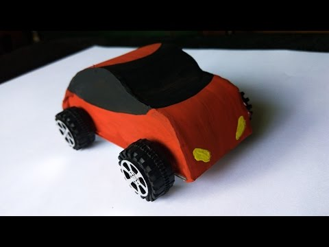 Make RC car - How To Make A RC Car At Home(Wired)