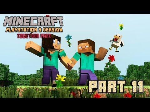 Let's Play Minecraft Ps3 -011- (German/100%) Splitscreen Abenteuer