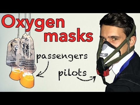 Aircraft OXYGEN systems, how do they work?