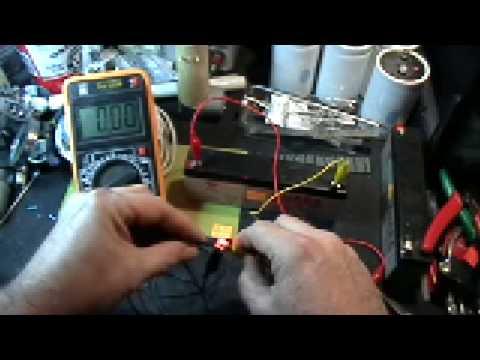 Voltage drop across circuit elements
