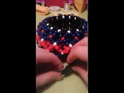 How to attach a perler to a 3D cuff