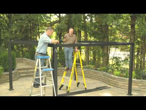 Lowe's Gazebo Installation Video