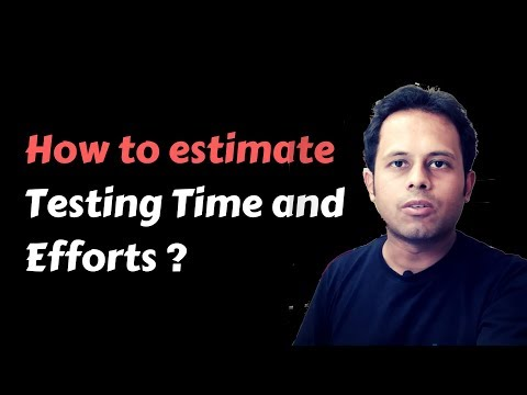 QnA Friday 38 - How to estimate Testing Time and Efforts
