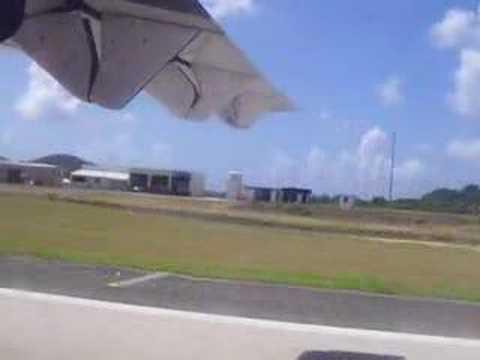 Takeoff from Tortola