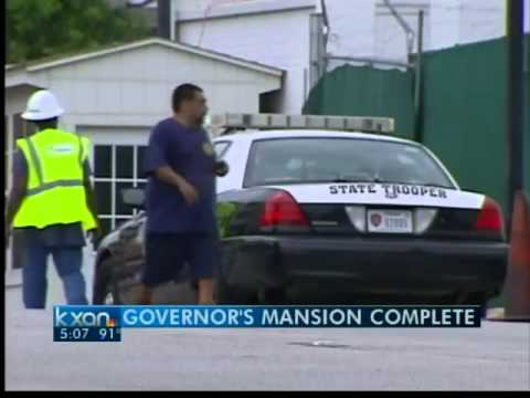 Texas governor's mansion restoration complete