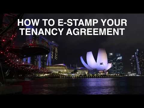 How to Estamp a Lease Tenancy Agreement in Singapore