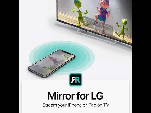 How to mirror your iPad to your LG Smart TV