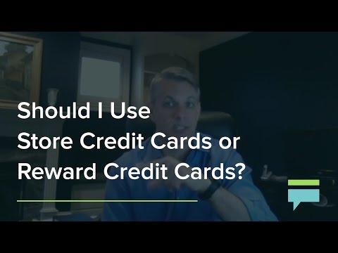Should I Use Store Credit Cards Or Reward Credit Cards? – Credit Card Insider