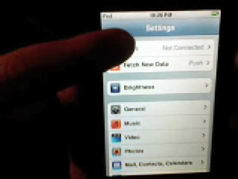 How to fix ipod touch or iphone wifi problem