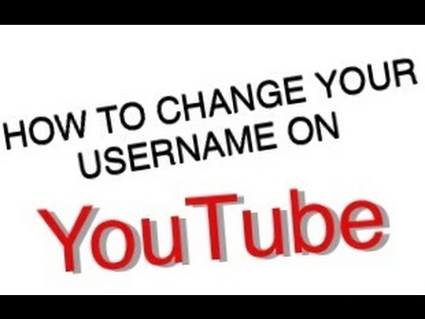 How to change your YouTube username on iPhone!
