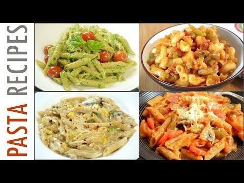 4 Pasta Recipes | Quick and Easy Pasta Recipes